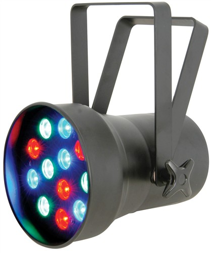 QTX LED PAR 38 High Power, černý