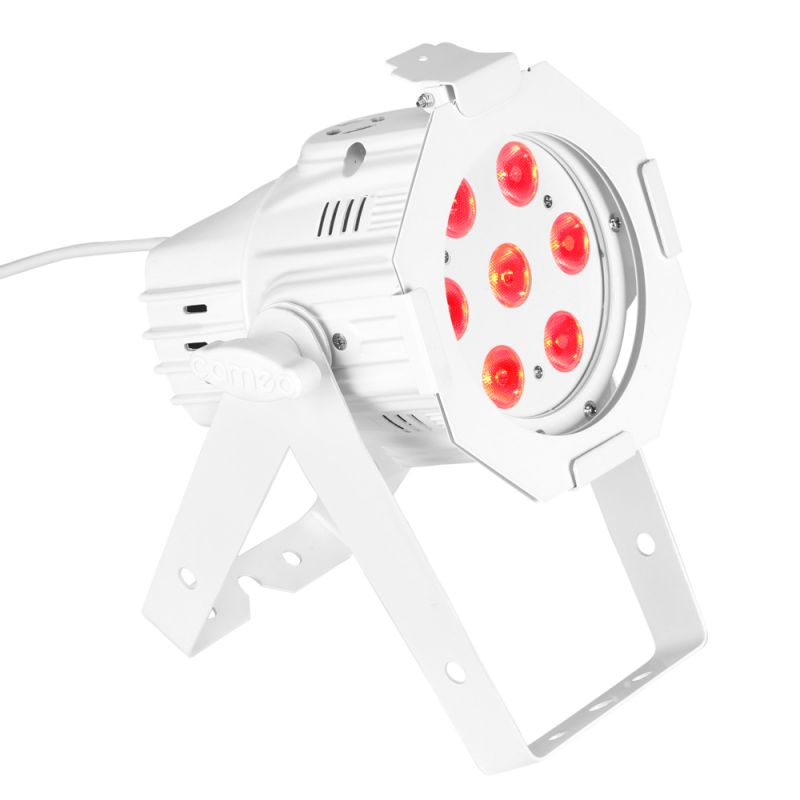 Cameo Studio Mini PAR 7x 8W Quad Colour LED RGBW White