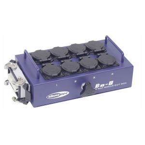 Showtec Breakout box 8-way