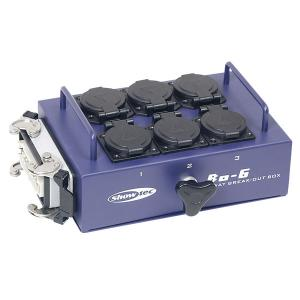 Showtec Breakout box 6-way