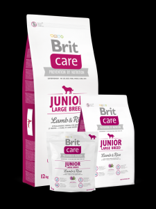 NEW Brit Care Junior Large Breed Lamb & Rice 12kg